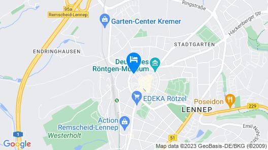 Hotel Berliner Hof Map