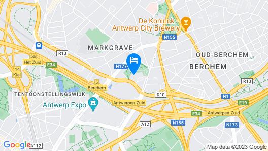Mercure Antwerp City South Map