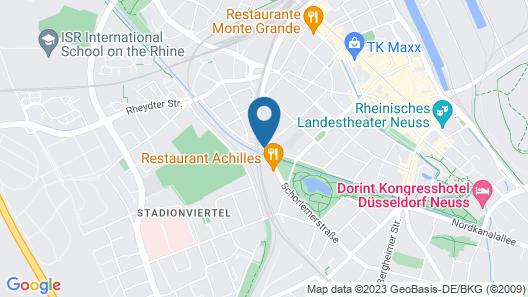 Hotel Viktoria Neuss Map