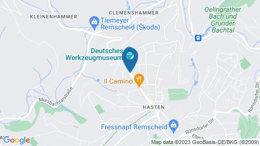 Ascot Hotel Map