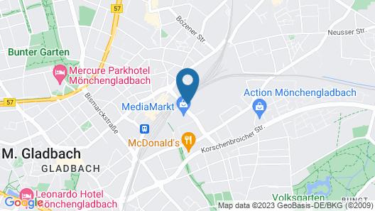 B&B Hotel Mönchengladbach Map