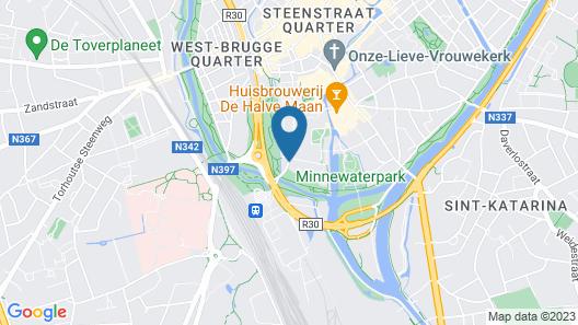 Hotel 't Keizershof Map