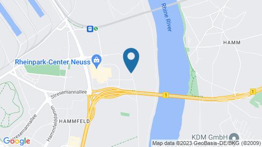 Crowne Plaza Düsseldorf-Neuss Map