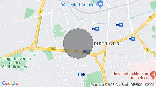 Apartment Dusseldorf Map