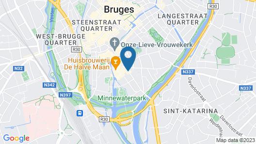 Novotel Brugge Centrum Map