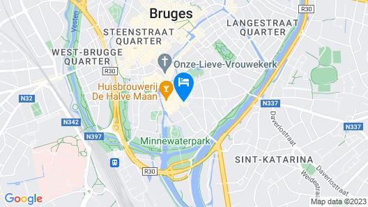 ibis Brugge Centrum Map
