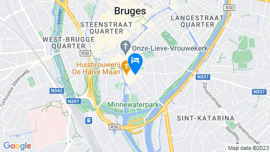 Academie Hotel Map