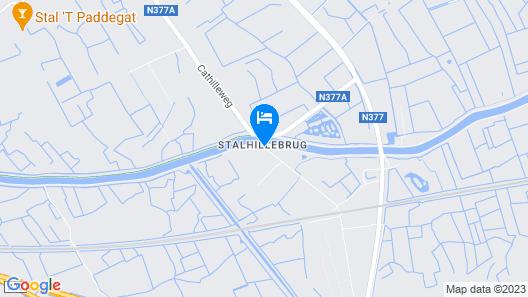 Bed & Breakfast Ter Brugge Map