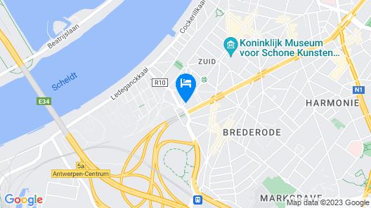 Boutique Hotel Maison Emile Map
