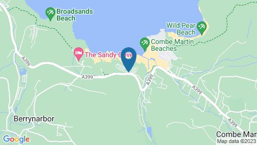 Sandaway Beach Holiday Park Map