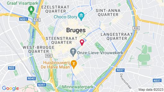 Hotel de Tuilerieen Map