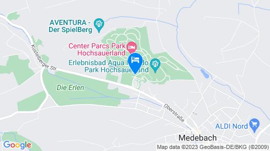 Center Parcs Park Hochsauerland Map