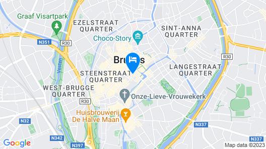 Martin's Brugge Map