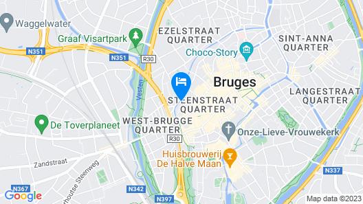 Monsieur Ernest Map