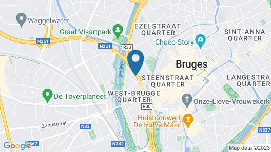 Floris Karos Bruges Map