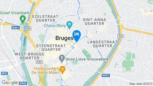 Die Swaene Hotel Map