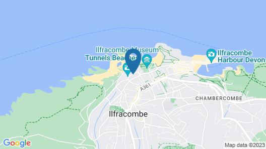 Ilfracombe Carlton Hotel - Hotel Map
