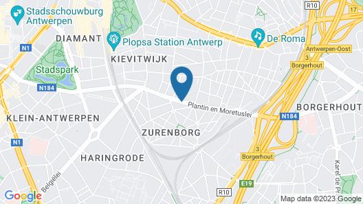 TRYP by Wyndham Antwerp Map