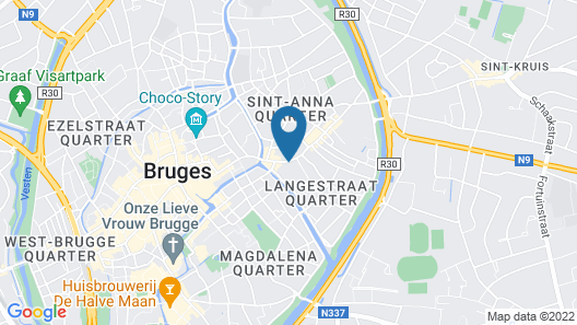 Flanders Hotel Map