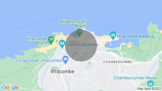 Ilfracombe Gabriel House 5 Bedrooms Map
