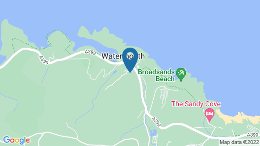 Watermouth Lodges Map