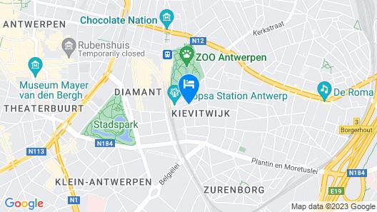 ibis budget Antwerpen Centraal Station Map