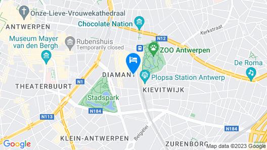 A-STAY Antwerpen Map