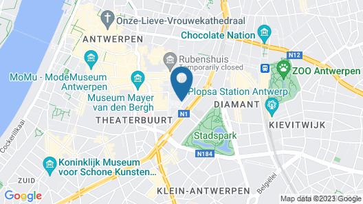 ibis Antwerpen Centrum Map
