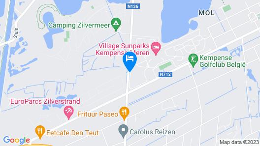 Hotel Sunparks Kempense Meren Map