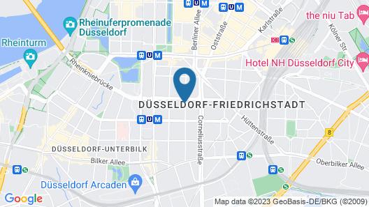Apartments Jahnstraße Map