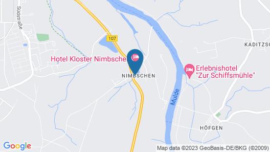 Hotel Kloster Nimbschen Map