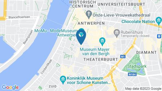 Hotel Colvenier Map