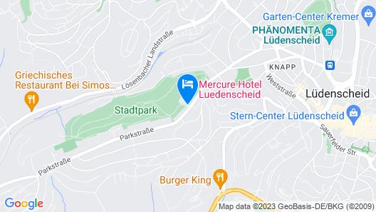 Mercure Hotel Luedenscheid Map