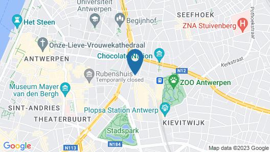 Smartflats Design - Antwerp Central Map