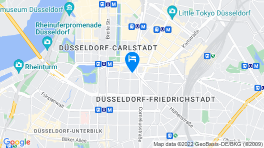 NH Düsseldorf Königsallee Map