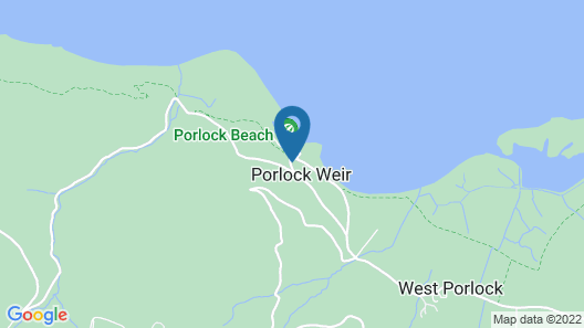 The Porlock Weir Hotel Map