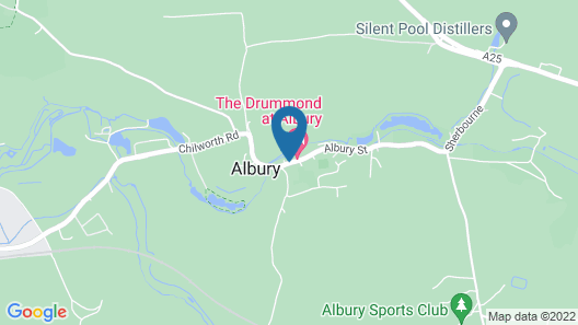 The Drummond Arms Map