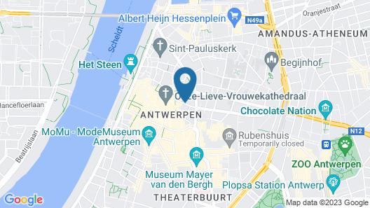 Hotel Julien Map
