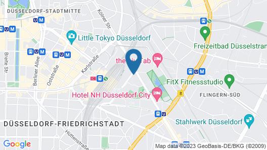 ibis Düsseldorf City Map