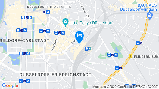 ibis Düsseldorf Hauptbahnhof Map