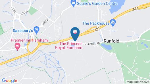 The Princess Royal Map