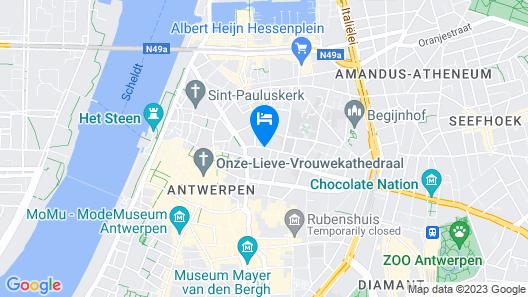 Hotel De Witte Lelie Map