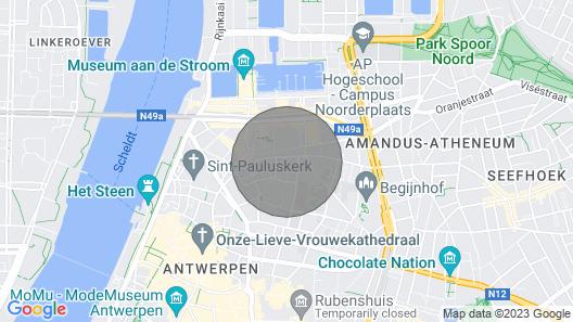 Antwerp House of Treats Map