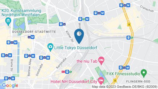 Hotel Residenz Düsseldorf Map