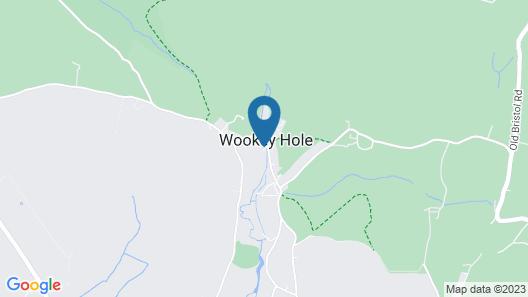 Wookey Hole Hotel Map
