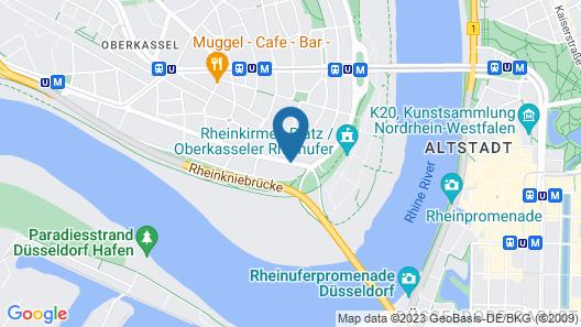 DJH City Hostel Map