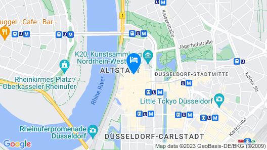 Hotel Design Apart Map