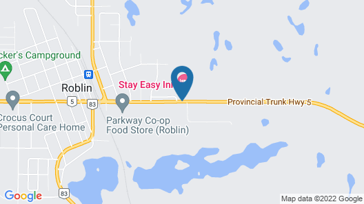 Stay Easy Inn Map