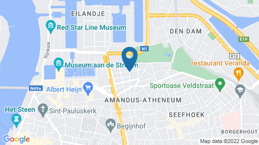 Condo Gardens Antwerpen Map