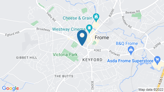 Rook Lane House Map